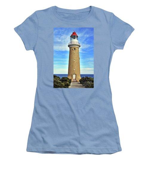 Light House At Cape Du Couedic Women's T-Shirt (Athletic Fit)