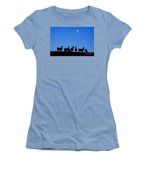Moonlighting Women's T-Shirt (Athletic Fit)