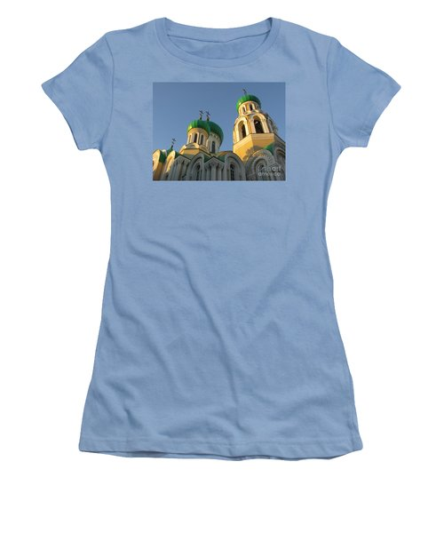 Orthodox Church Of Sts Michael And Constantine- Vilnius Lithuania Women's T-Shirt (Athletic Fit)
