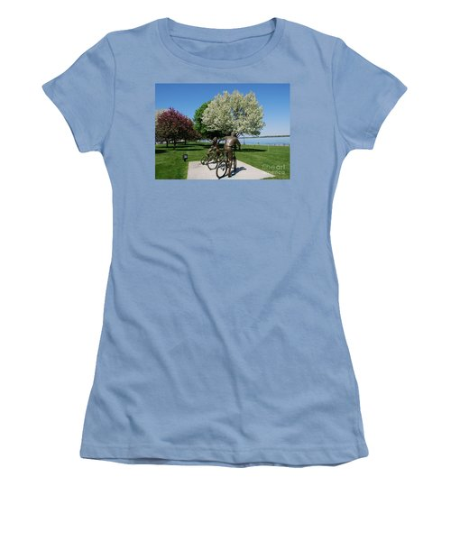 Palmer Park In Spring 2 Women's T-Shirt (Athletic Fit)