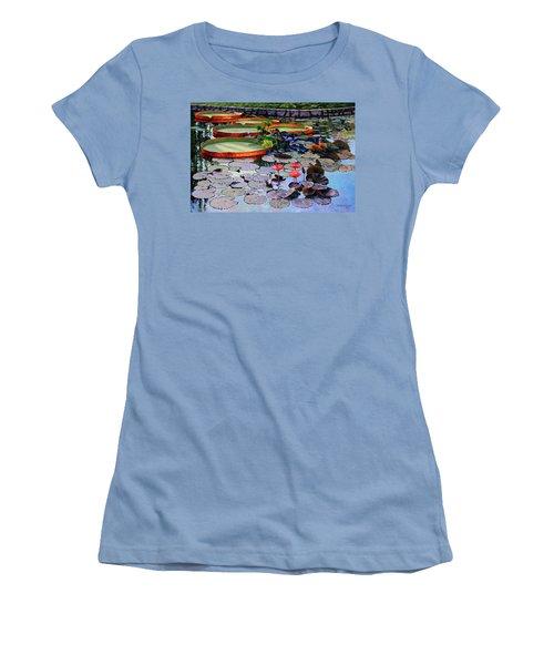 Quiet Moments Women's T-Shirt (Athletic Fit)