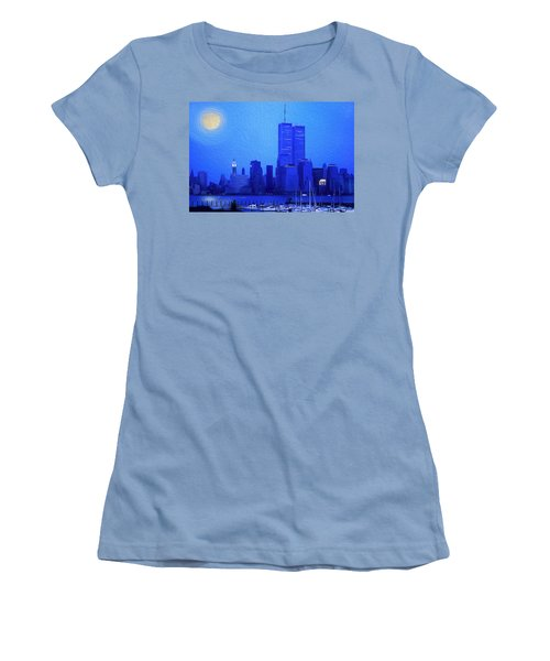 Silent Summer Women's T-Shirt (Athletic Fit)