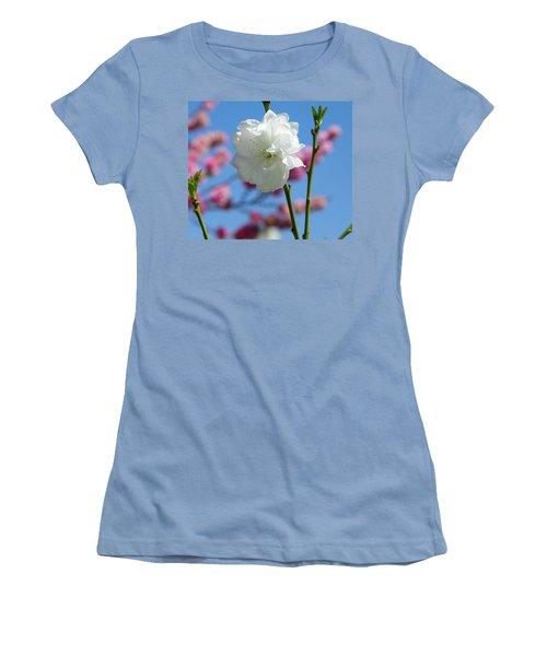 Spring Women's T-Shirt (Junior Cut) by Sandra Lira