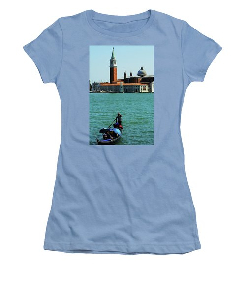 Venice Gandola Women's T-Shirt (Athletic Fit)