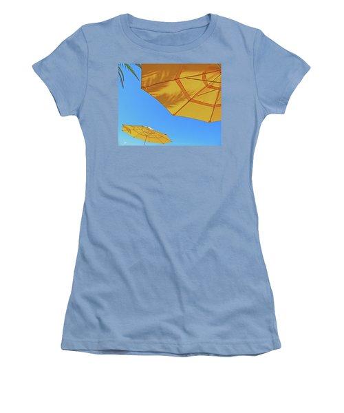 Women's T-Shirt (Junior Cut) featuring the photograph Yellow Time  by Lizi Beard-Ward
