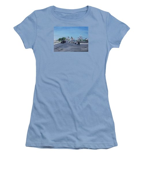 Family Cycling Tour Women's T-Shirt (Athletic Fit)