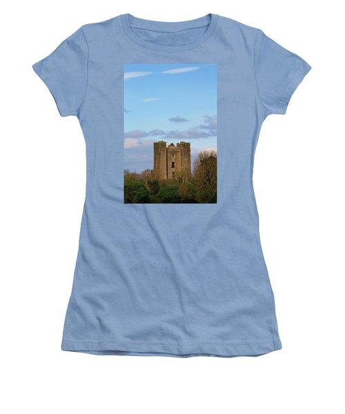 Dunsoghly Castle Women's T-Shirt (Junior Cut) by Martina Fagan