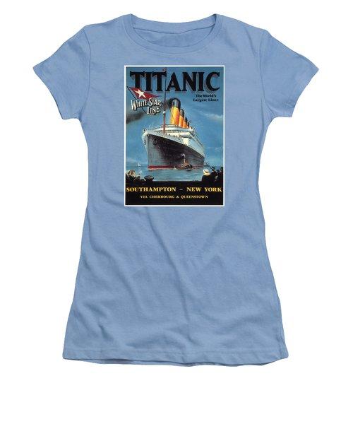 0065186 Women's T-Shirt (Junior Cut) by Titanic