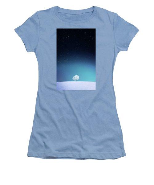 Apple Women's T-Shirt (Junior Cut) by Bess Hamiti