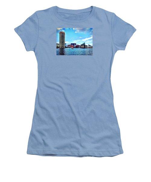Baltimore's Inner Harbor Women's T-Shirt (Athletic Fit)