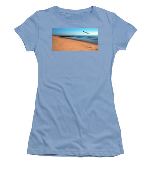 Women's T-Shirt (Junior Cut) featuring the photograph Desire Light  by Hannes Cmarits
