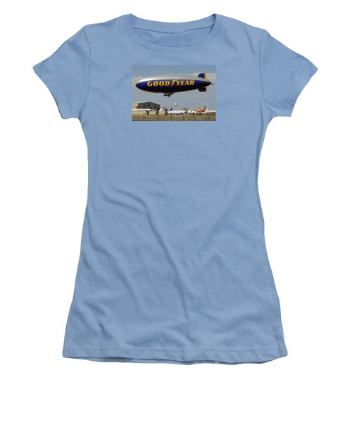 Goodyear Blimp Spirit Of Innovation Goodyear Arizona September 13 2015 Women's T-Shirt (Athletic Fit)