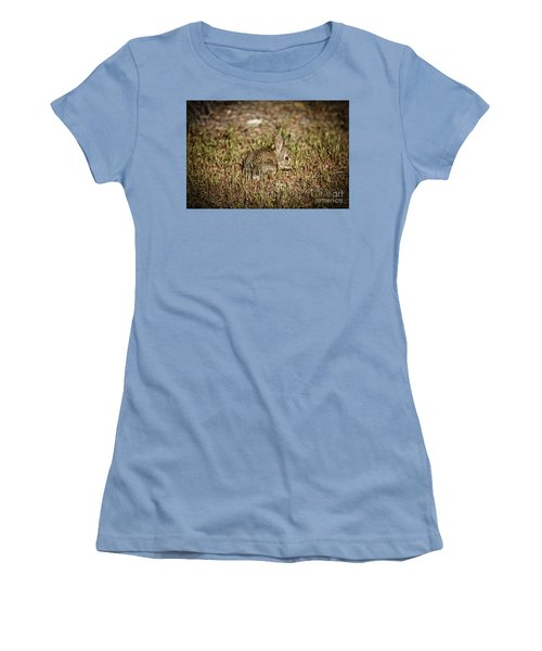Here I Am Women's T-Shirt (Junior Cut) by Robert Bales