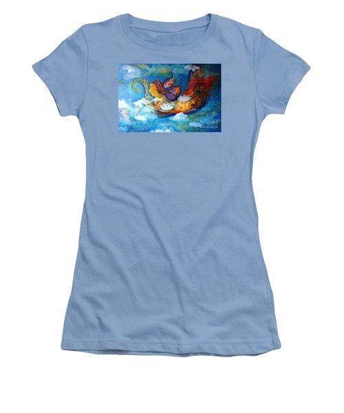 Inner Dream Women's T-Shirt (Junior Cut) by Sanjay Punekar