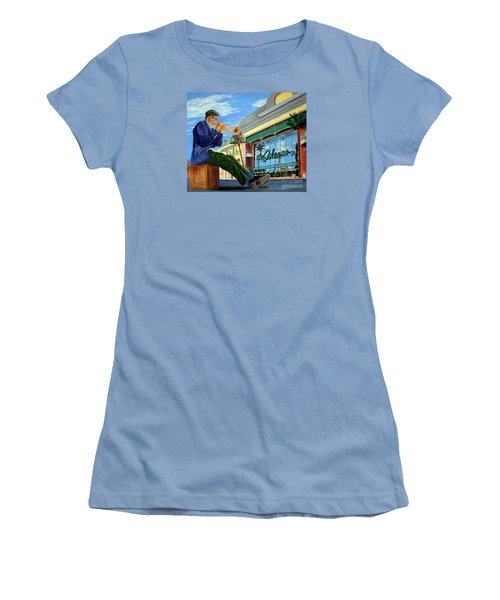 Jazz At The Orleans Women's T-Shirt (Junior Cut) by Vicki  Housel