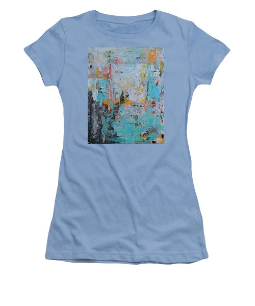 Letting Go Again Women's T-Shirt (Athletic Fit)