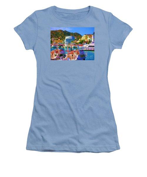 Marina Towards Pedregal Women's T-Shirt (Junior Cut) by Gerhardt Isringhaus