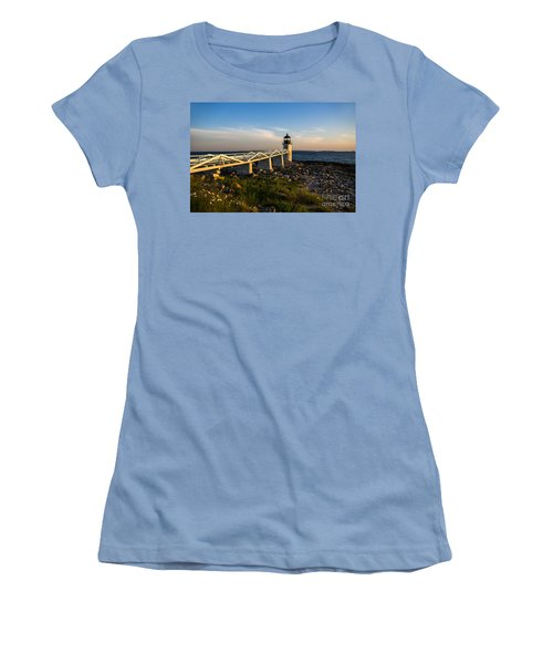 Marshall Point Lighthouse Women's T-Shirt (Athletic Fit)