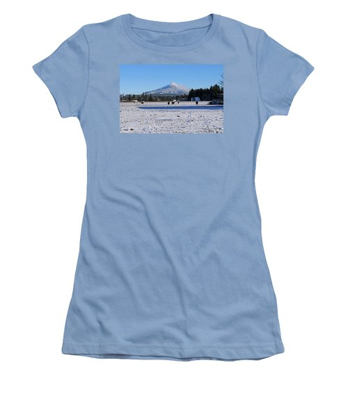 Mt. Pilchuck Women's T-Shirt (Junior Cut) by Rebecca Parker