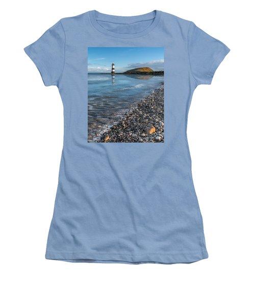 Penmon Point Lighthouse Women's T-Shirt (Athletic Fit)