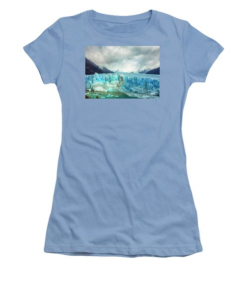 Perito Moreno Glacier Women's T-Shirt (Athletic Fit)