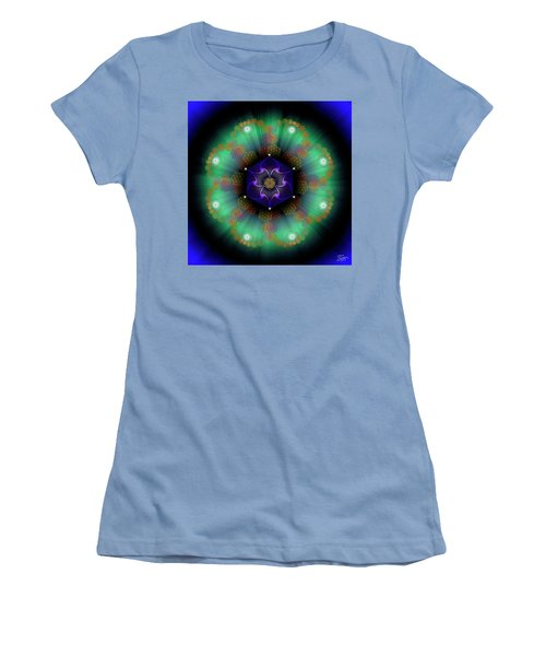 Sacred Geometry 638 Women's T-Shirt (Junior Cut) by Endre Balogh