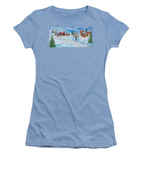 Winter Hamlet Women's T-Shirt (Athletic Fit)