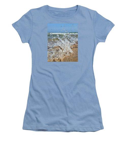 Splash Women's T-Shirt (Junior Cut) by Nikki McInnes