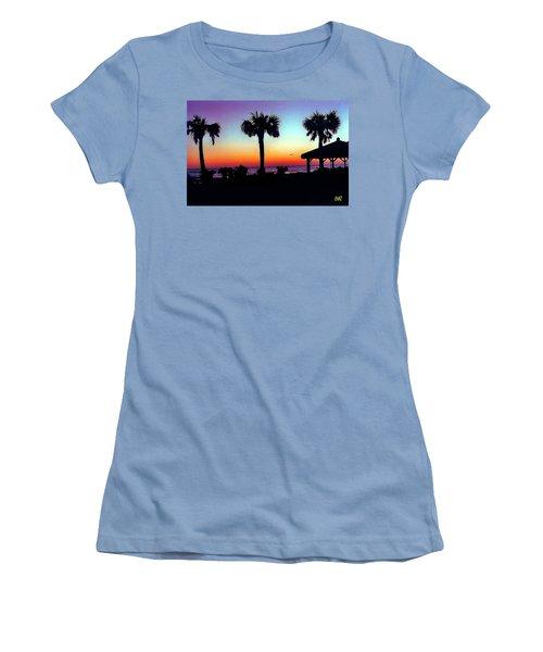 Sunrise On Ormond Beach Women's T-Shirt (Athletic Fit)