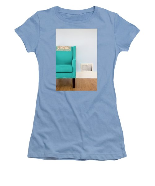 The Blue Chair Women's T-Shirt (Athletic Fit)