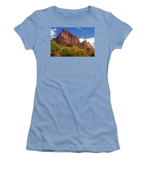 The Watchman Women's T-Shirt (Junior Cut) by Raymond Salani III