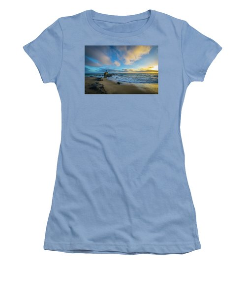 The Woman And Sea Women's T-Shirt (Athletic Fit)