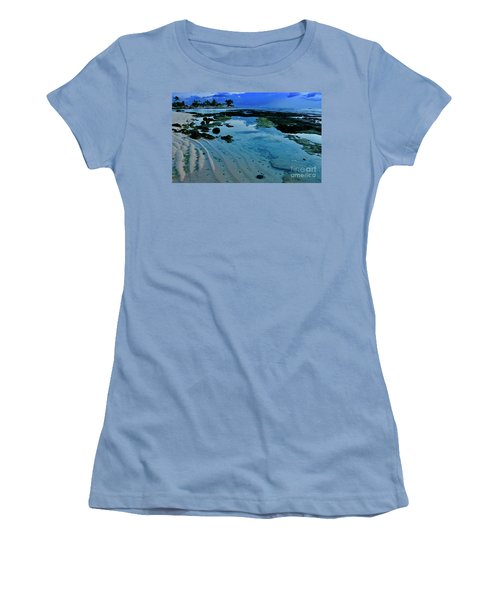 Tide Pool Women's T-Shirt (Athletic Fit)
