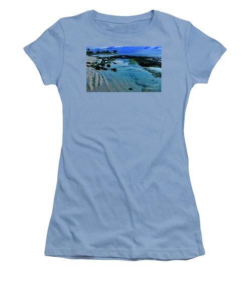 Tide Pool Women's T-Shirt (Athletic Fit)