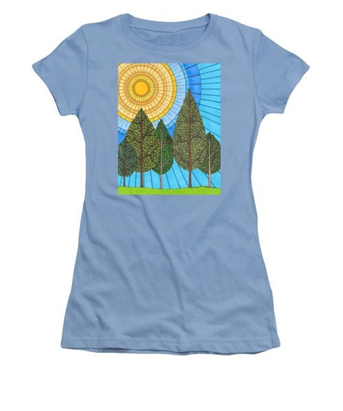 Yearning For Spring Women's T-Shirt (Athletic Fit)