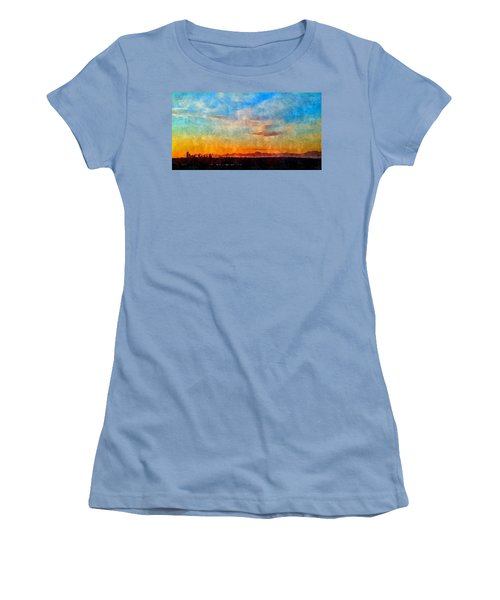 14th Floor Bellevue Place  Women's T-Shirt (Junior Cut) by Karl Reid
