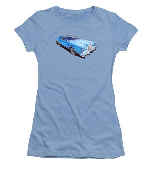 1979 Thunderbird Tee Shirt Art Women's T-Shirt (Athletic Fit)
