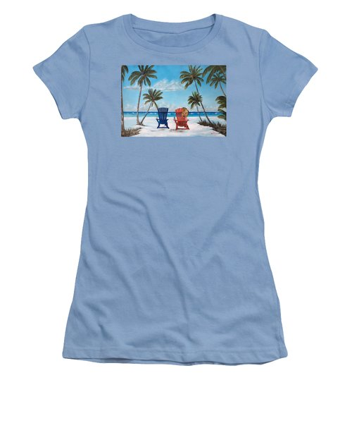 Living The Dream Women's T-Shirt (Athletic Fit)