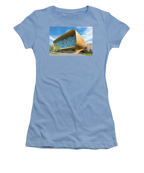 Women's T-Shirt (Junior Cut) featuring the photograph Modern Building by Hans Engbers
