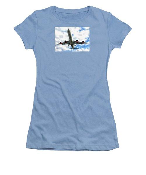Passenger Plane Women's T-Shirt (Athletic Fit)