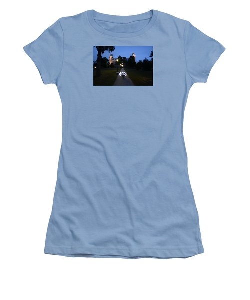 University Of Arkansas Women's T-Shirt (Junior Cut) by Chris  Look