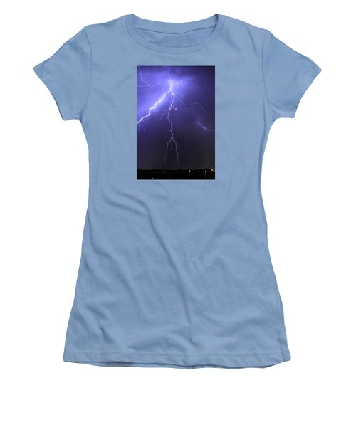 West Jordan Lightning 4 Women's T-Shirt (Junior Cut) by Paul Marto