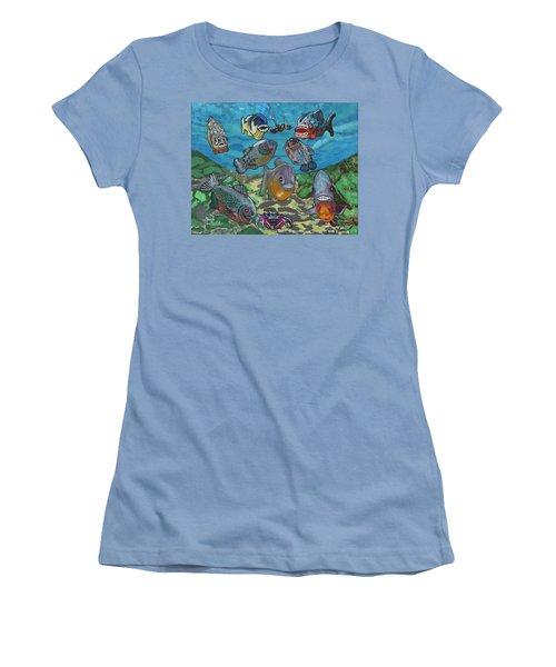 2018 - August Women's T-Shirt (Athletic Fit)