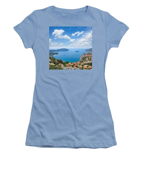 cote dAzur, France Women's T-Shirt (Athletic Fit)