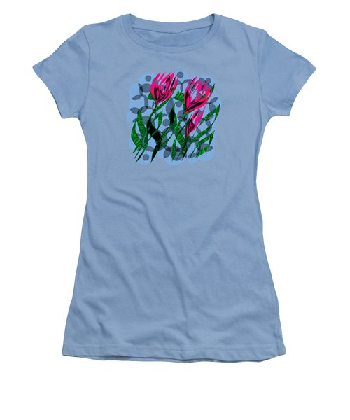 3 Posies Women's T-Shirt (Athletic Fit)