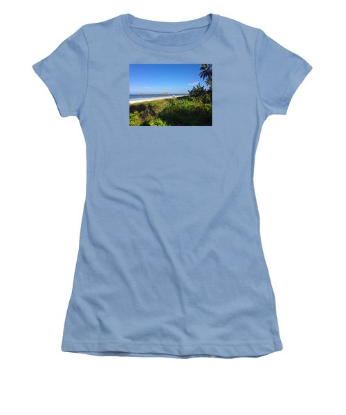 The Historic Naples Pier Women's T-Shirt (Athletic Fit)