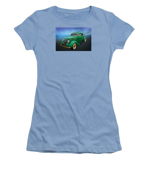 Women's T-Shirt (Junior Cut) featuring the photograph 36 Ford by Keith Hawley