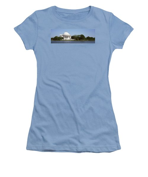 Jefferson Memorial, Washington Dc Women's T-Shirt (Athletic Fit)