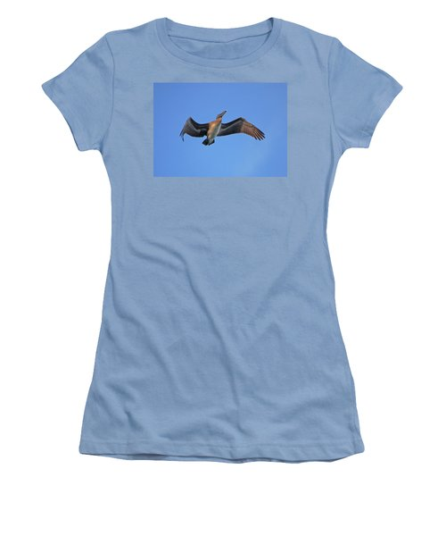 Women's T-Shirt (Junior Cut) featuring the photograph 4- Pelican by Joseph Keane