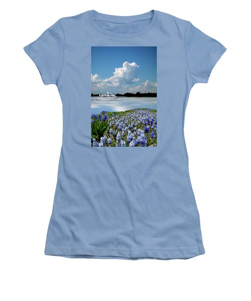 Women's T-Shirt (Athletic Fit) featuring the photograph 4464 by Peter Holme III